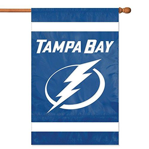 NHL 2-Sided Appliqué Banner Flag , Tampa Bay Lightning