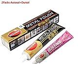 Autosol Metal Polish Paste 75ml/3.33oz for All Kinds of Metal Polishing