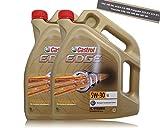 2bidones de 5 litrosde aceite para motor Castrol Edge Titanium FST 5W-30 LL, VW 504 00/ 507 00 Porsche C30