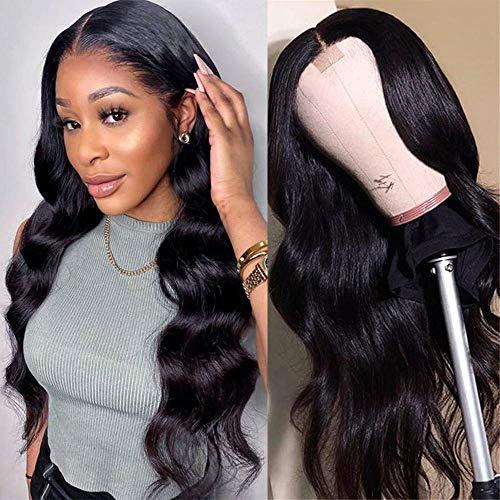 obtener pelucas de pelo natural color negro online