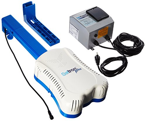 Solaxx CLG10A Saltron Retro Self Cleaning Salt Chlorine Generator with Built In Timer for Inground and Aboveground Pools Up To 20,000 Gallons.