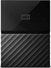 Western Digital WD Portable External Hard Drive, 4TB, USB 2.0/3.0, WDBYFT0040BBK-WESN, Black