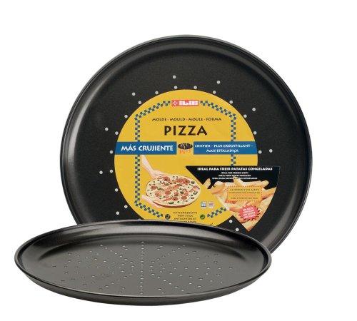 IBILI 821928 - Molde Pizza Crispy Moka 28 Cms.