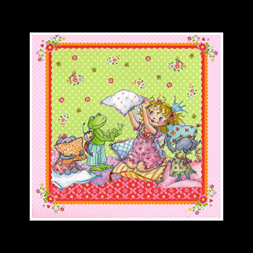 Stick It On Your Wall Prinzessin Lillifee–Kissen Kampf Mini Poster–40x 40cm