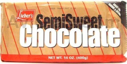 Lieber's Semi Sweet Year-end annual account 14 Denver Mall Chocolate oz