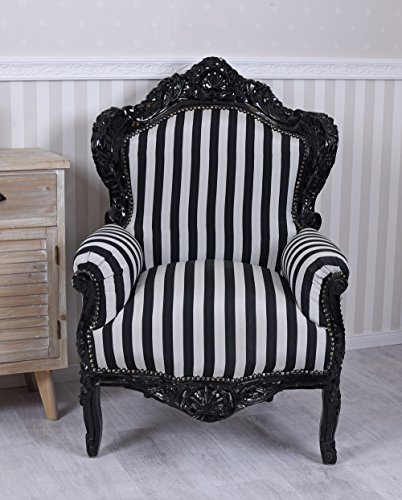 Barocksessel Ohrensessel Sessel Antik Barockstuhl Thron Barock Armlehnsessel neu cat588c20 Palazzo Exclusiv