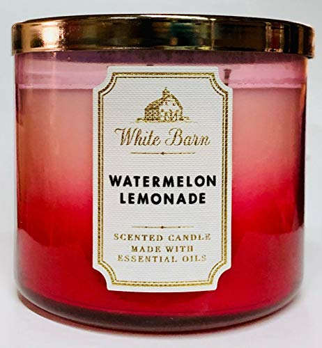 White Barn Bath and Body Works Watermelon Lemonade 3 Wick Candle 2019