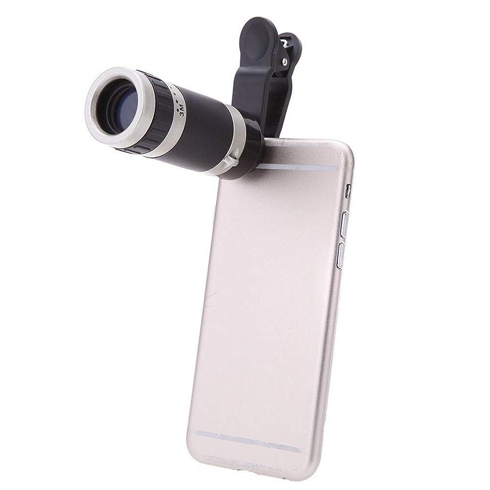 バイオレットハック膨らみOPENDOORRED 単眼鏡 携帯電話カメラ 8X18 望遠鏡レンズ HD ハイパワー 携帯電話 望遠鏡 屋外写真