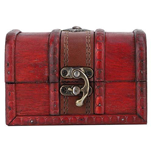 【Venta del día de la madre】Caja de almacenamiento de joyería cuadrada de...