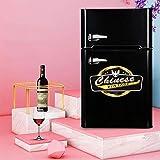 Kühlschrank 108 Liter freistehend unter Theke Speisekammer Kühlschrank 86 cm hoch A...