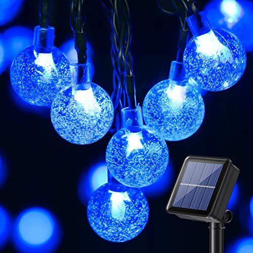 Guirnalda Luces Exterior Solare, BrizLabs 13.8M 60 LED Caden