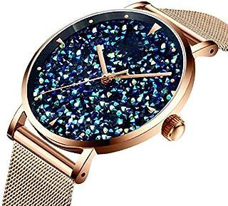 Xieifuxixxxnssb men's wrist watches Luxury Women Watches Ladies Magnetic Gypsophila Dial Women Watch Quartz Watches Waterp...