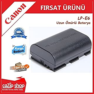 Canon LP-E6 LPE6 İçin Batarya