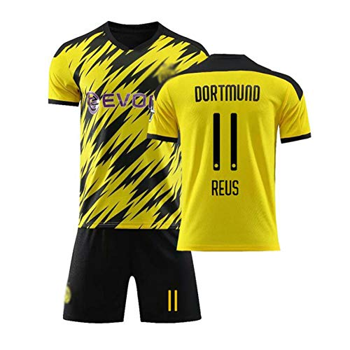 YONG Dortmuno Reus #11 Italia Maglia da Calcio, Bambino Adulto Maschio Italia Squadra Nazionale Calcio Maglia, T-Shirt Pantaloncini,11,L