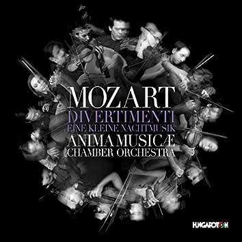 """Mozart: Divertimentos, K. 136-138 & Serenade No. 13 in G Major, K. 525 """"Eine kleine Nachtmusik"""""""