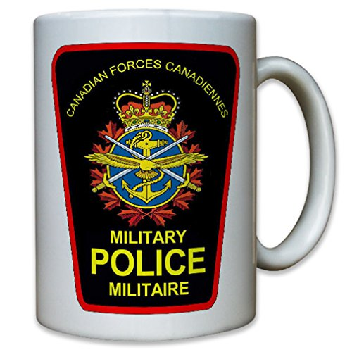 Canadian MP Military Police Forces Canadiennes badge - Coffee Cup Mug