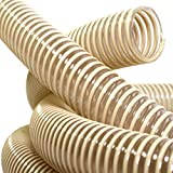 15 metros diámetro 50 mm tubo espiral PVC 50 mm interior 58 mm exterior para alimentos serpirex de Foll Plast®