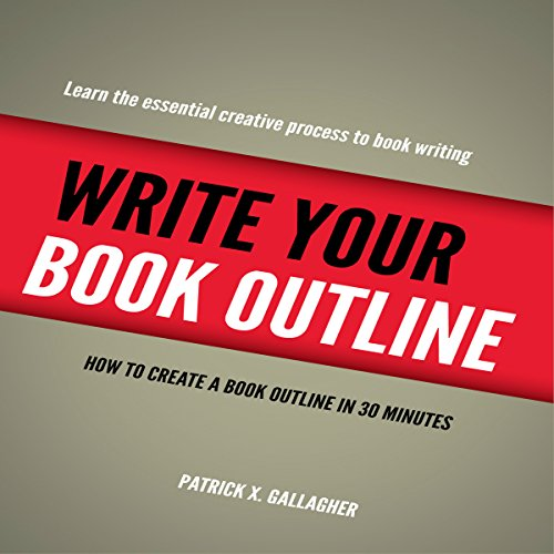Write Your Book Outline audiobook cover art