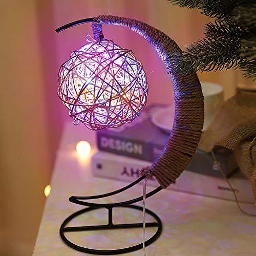 Zhantie Luz de la estrella de las manzanas de la luz de la decoración de la forma de