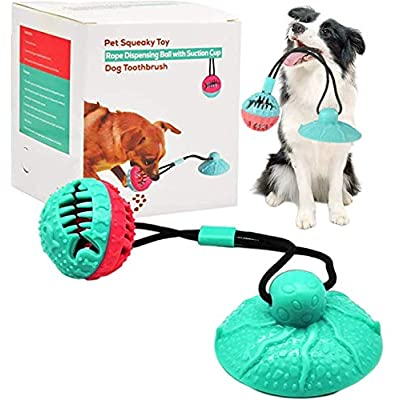 Amazon - 74% Off on Suction Cup Dog Chew Toy Dog Toy for Aggressive Chewers Multifunctional