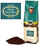 Mystic Monk Coffee: Mystic Monk Blend (Dark Roast Ground Coffee 100%...