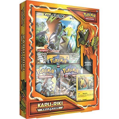 Lively Moments Pokemon Karten Kapu-Riki Kollektion DE Deutsch Promo Sammelkarten Spielkarten