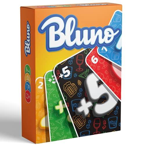 Bluno - Drunk UNO Trinkspiel - Trinkspiel für Erwachsene, Saufspiel - Das Partyspiel zum Spieleabend oder Vorglühen