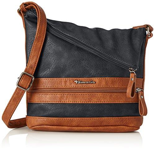 Tamaris Damen Smirne Crossbody Bag 2446172 Umhängetasche, Blau (Navy Comb. 890)