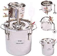 DIY 3 Gal 12 Liters Home Distiller Moonshine Alcohol Whiskey Water Still Stainless Boiler Thumper Keg