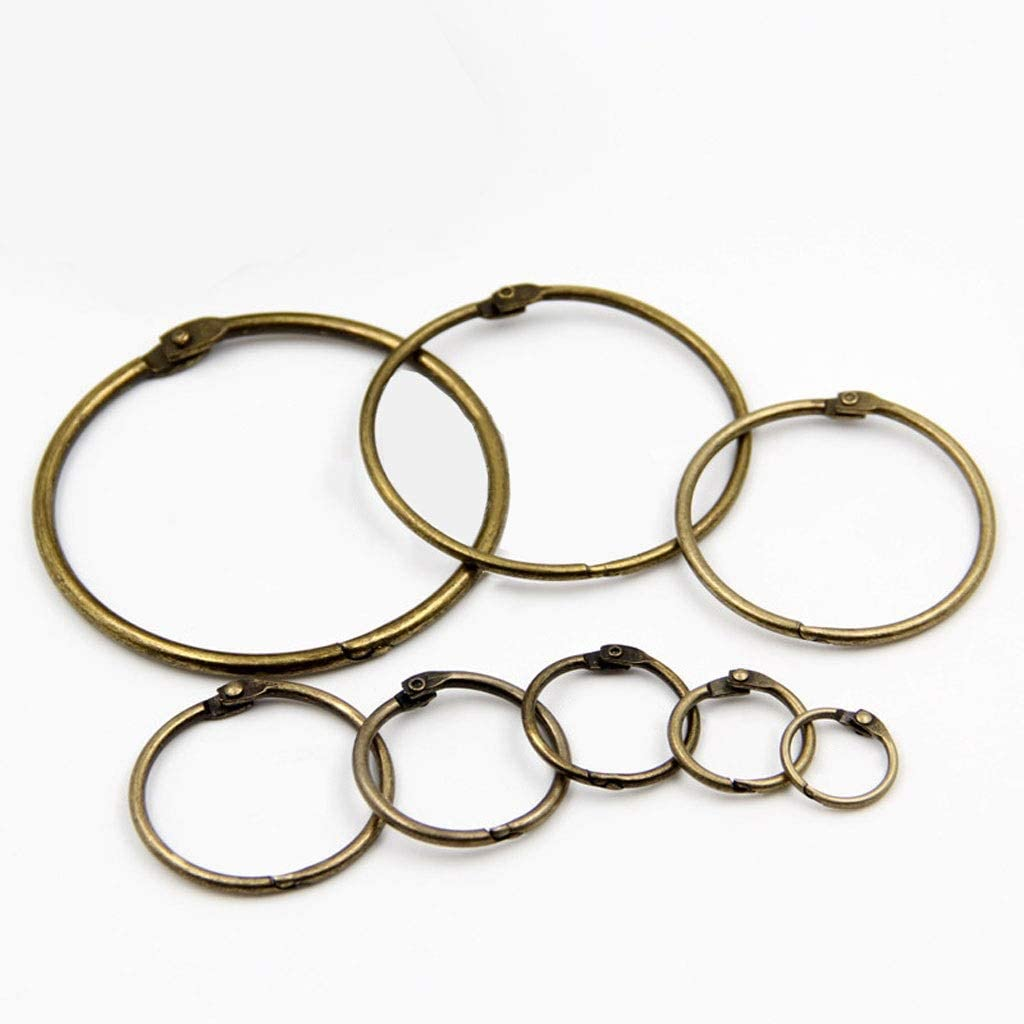zxb-shop Japan's largest assortment Large special price !! Curtain Eyelet Rings Open Rustproof and Close Dra Metal