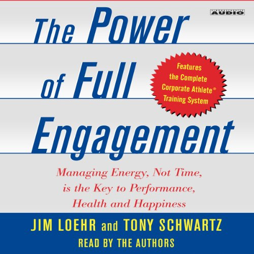 The Power of Full Engagement audiobook cover art