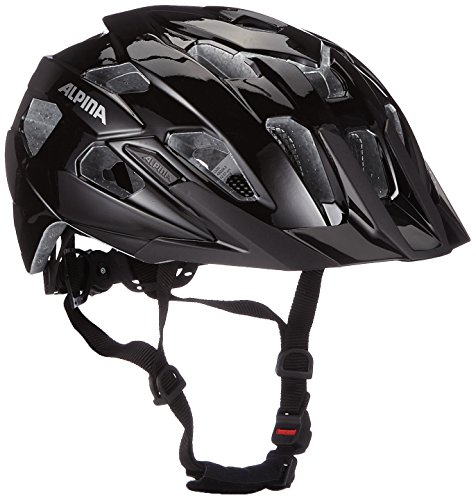ALPINA Yedon Fahrradhelm, Black, 53-57 cm
