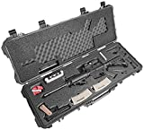 Case Club AR-15 Pro Pre-Cut Waterproof Rifle Case with Included Silica Gel to Help Prevent Gun Rust & Small Waterproof Accessory Box (Gen 2)