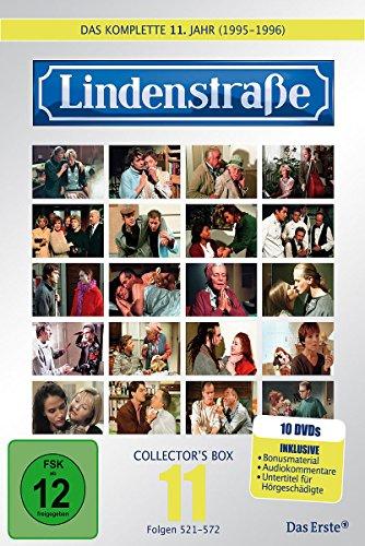 Die Lindenstraße - Das elfte Jahr (Folge 521-572) (Collector's Box, 10 DVDs)