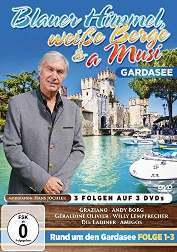 Blauer Himmel, weiße Berge & a Musi - Gardasee [3 DVDs] [Alemania]