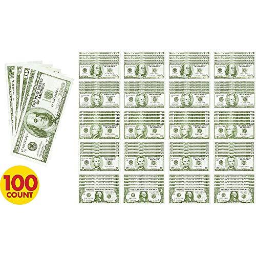 amscan 255577Casino Geld für Spielzeug