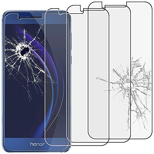 ebestStar - [Lote x3 Cristal Templado Compatible con Huawei Honor 8 Protector...