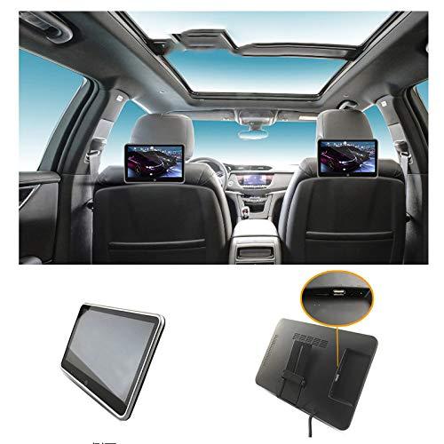 Auto-Fond-Entertainment-System Auto Bluetooth TV HD Kopfstütze Display Universal-Rücksitz 10,1-Zoll-2-Pack geeignet für BMW, Land Rover, Volvo und andere allgemeine Modelle