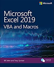 Jelen, B: Microsoft Excel 2019 VBA and Macros (Business Skills)