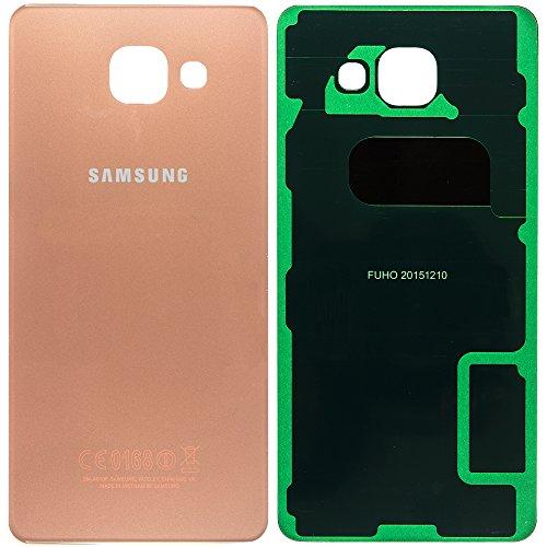 Unbekannt Original Samsung Akkudeckel pink/Rose-Gold für Samsung A510F Galaxy A5 (2016) - (Akkufachdeckel, Batterieabdeckung, Rückseite, Back-Cover) - GH82-11020D