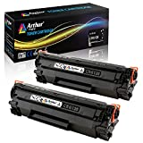 Arthur Imaging Compatible Toner Cartridge Replacement for Canon 128 (3500B001AA) (Black, 2-Pack) (8.627E+11)