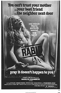 Rabid Poster Movie 11x17 Marilyn Chambers Frank Moore Joe Silver Howard Ryshpan