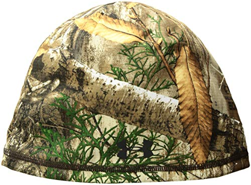 Under Armour Men's Scent Control Storm Fleece Beanie, Realtree Edge (991)/Black, One Size Fits All