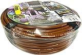 S&M 543852 Microtubo Flexible 4 mm con gotero Integrado Cada 15 cm, Marrón, 19.5x19.5x6 cm