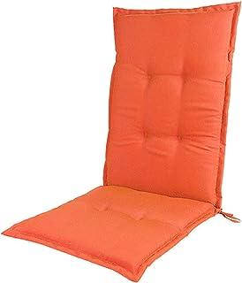 وسادة كرسي الحديقة وسادة خلفية عالية، وسادة داخلية رقيقة مصنوعة يدويا من القطن مع العلامات، عطلة استرخاء الفناء، لا الكراس...