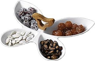 طبق تقديم البندق الفواكه الجافة صواني تقديم صواني التقديم تراجع صواني التقديم لأطباق فواكه الحفلات