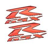 Pegatinas coche moto Etiqueta de la motocicleta reflectante cáscara del cuerpo de la etiqueta engomada de la insignia for SUZUKI GSXR 600 R logo 750 1000 1300 K1 K2 K3 K4 K5 K6 K7 K8 K9