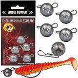 Angel-Berger Wild Devil Baits Cheburashka Flex Heads Jig Ball (Mix)