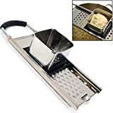 Premium Grade Stainless Steel Spaetzle Maker with Comfort Grip Handle Traditional German Egg Noodle Maker