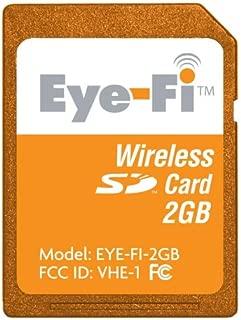 Eye-Fi Share 2 GB Wi-Fi SD Flash Memory Card EYE-FI-2GB (Old Version)